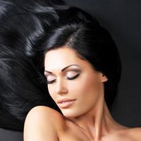 Ilustrasi rambut berkilau. (Pearltrees.com)