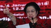 Ketua Umum DPP PDIP, Megawati Sukarnoputri (Liputan6.com/Helmi Fitriansyah)