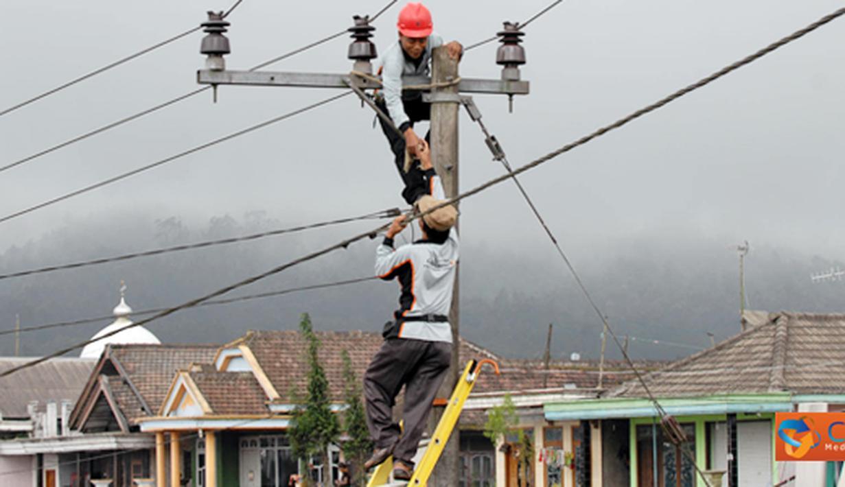 Citizen6, Jakarta: Petugas PLN sedang melakukan pemeliharaan Jaringan Tegangan Menengah (JTM) dalam upaya meningkatkan kehandalan pasokan listrik kepada pelanggan. (Pengirim: Agus Trimukti)