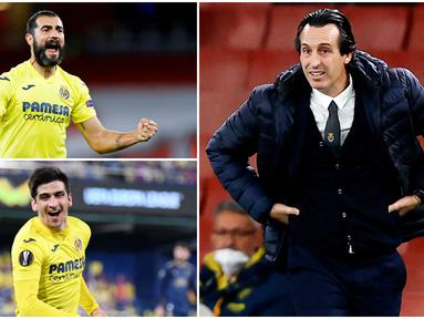 Skuat Villarreal berpotensi besar bisa membuat Manchester United merana di laga final Liga Europa. Setidaknya ada empat sosok dari kubu Kapal Selam Kuning yang bisa menjadi mimpi buruk Setan Merah, termasuk sang juru taktik Unai Emery.