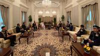 Pertemuan Bilateral Indonesia dengan Singapura.