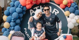 Ultah baby Athar Anak Rizky Aditya dan Citra Kirana (Instagram/citraciki)