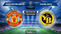 Jadwal Liga Champions 2018-2019, Manchester United vs Young Boys. (Bola.com/Dody Iryawan)