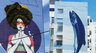Kreatif, 7 Potret Ubah Tembok Kota Jadi Karya Seni Menakjubkan