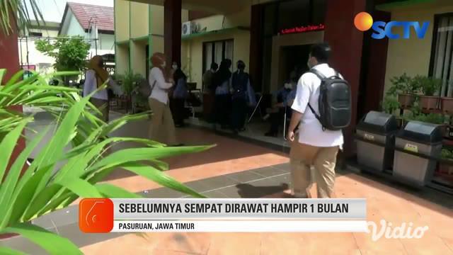 Bayi laki-laki berusia 2 tahun di Kota Pasuruan terjangkit corona. Bayi asal Kelurahan Tapaan, Kecamatan Bugulkidul ini menjadi pasien positif corona ke-16.