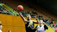 CLS Knights Indonesia menelan kekalahan menyakitkan dari Chong Son Kung Fu pada pertandingan ASEAN Basketball League (ABL) 2017-2018. (CLS Knights)