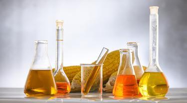 Ilustrasi biofuel atau bahan bakar hayati