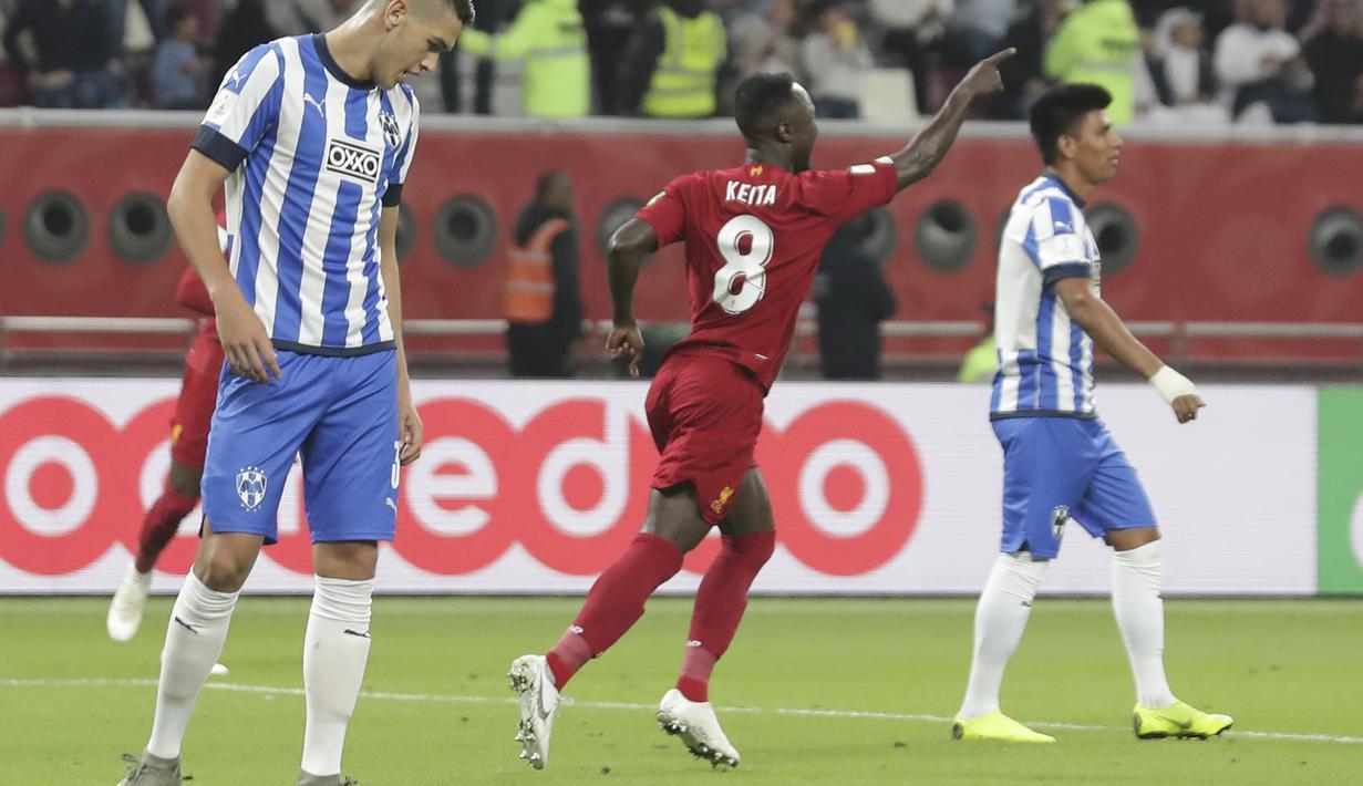 FOTO Bungkam Monterrey 2 1 Liverpool Melaju Ke Final Piala