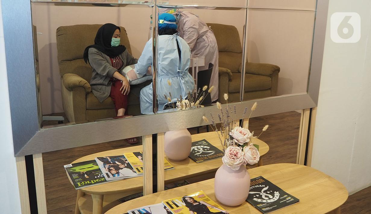 Foto Penerapan Protokol Kesehatan Di Salon Perawatan Tubuh Health Liputan6 Com