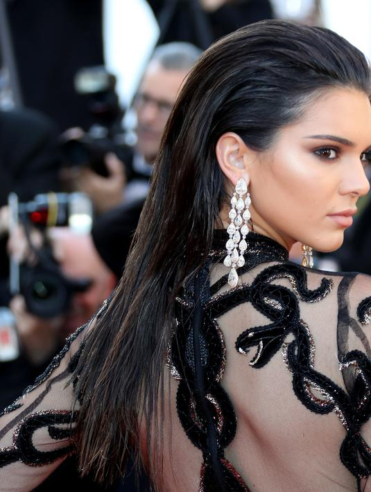 Kendall Jenner memang pantas dijadikan sebagai salah satu maskot sebagai 'Beauty Roles Models'. (AFP/Bintang.com)