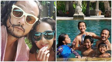 Usai Hirup Udara Bebas, Ini 6 Momen Liburan Dwi Sasono ke Bali Bareng Keluarga