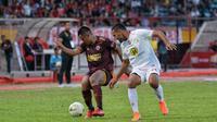Duel PSM vs Barito Putera di Stadion Andi Mattalatta Mattoangin, Makassar, Rabu (14/8/2019). (Bola.com/Abdi Satria)