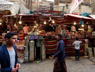 Penjual Kurma di Yaman