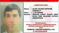 Bule Perancis jadi buronan Interpol