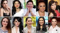 10 Artis Indonesia  (Liputan6.com/Sangaji)