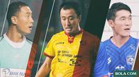 Trivia - 3 Pemain Korea Selatan di Indonesia (Bola.com/Adreanus Titus)