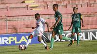 Persis Gotong Royong (GR) Solo kalah 0-1 dari Persimura Musi Rawa pada laga kedua putaran nasional Grup H Liga 3 2017. (Bola.com/Ronald Seger Prabowo)
