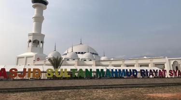 Raja Terakhir Kesultanan Melaka Diabadikan Sebagai Nama Masjid Agung Batam II