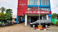 Kantor BTKL-PP Palembang Sumsel (Liputan6.com / Nefri Inge)