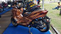 Yamaha Xmax hadir digelaran CutoMaxi. (Herdi Muhardi)