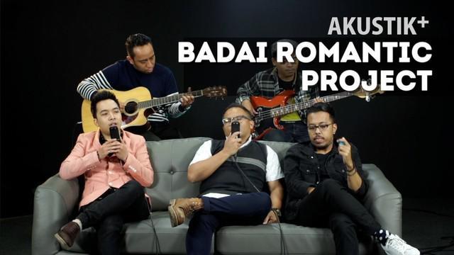 Lepas dari Kerispatih, Badai kembali ke Industri Musik Indonesia lewat Badai Romantic Project. Ayo kenalan lebih dekat di AKUSTIK PLUS.
