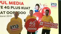 Konferensi Pers 4G Plus Kuat Indosat Ooredoo di Taman Mini Indonesia Indah. (Liputan6.com/Jeko I.R.)