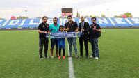 Bocah berbakat asal Indonesia, Tristan Alif Naufal resmi bergabung dengan klub La Liga, CD Leganes. (Dok.pribadi)