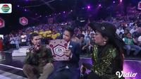 Jirayut Kena Tampar Masidayu Saat Melontarkan Komentar di D'Academy Asia 5. sumberfoto: Indosiar