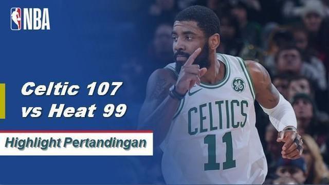 Kyrie Irving selesai dengan 26 poin, 10 assist, dan delapan mencuri karir tertinggi dalam kemenangan Celtics