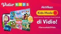 Jangan sampai ketinggalan, Vidio kembali menghadirkan fitur terbaru khusus tayangan anak. (Sumber : dok. vidio.com)