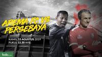 Liga 1 2019: Arema FC vs Persebaya Surabaya. (Bola.com/Dody Iryawan)