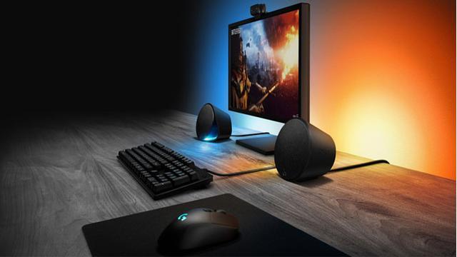 ce842a52c2f Logitech Pamer Speaker Gaming Baru dengan Lampu LED - Tekno Liputan6.com