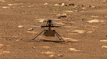 Helikopter Ingenuity. Dok: NASA
