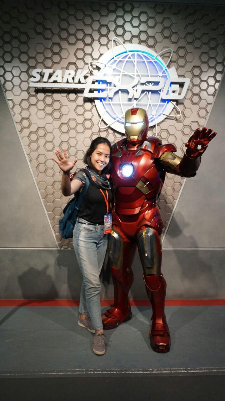Atraksi Spesial Bertema Iron Man Hadir di Hong Kong Disneyland