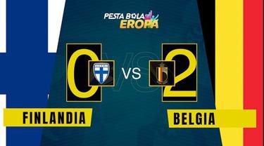 Berita video motion grafis, hasil pertandingan Belgia melawan Finlandia di matchday ketiga Grup B Euro 2020.