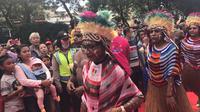Karnaval Cap Go Meh 2018 digelar di kawasan Glodok, Jakarta Barat (Liputan6.com/ Yunizafira Putri)