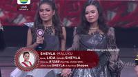 Grand Finalis Sheyla asal Maluku berduet dengan Aulia LIDA di Konser Kemenangan LIDA 2019, Jumat (3/5/2019) di Indosiar