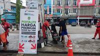 Pertamina menjalankan Program Langit Biru yang berlangsung mulai Minggu (14/1/2021) hingga enam bulan ke depan di Kota Pontianak, dan Kobupaten Mempawah, Kalimantan Barat.