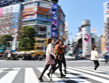 Persimpangan Shibuya Crossing