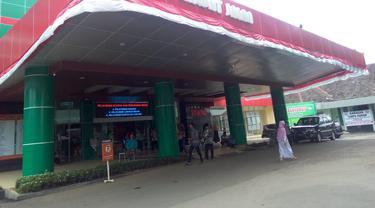 RSUD Banyumas, salah satu RS rujukan Covid-19 di Jawa Tengah. (Liputan6.com/Rudal Afgani)