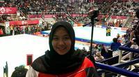 Henny Listiani jadi sport trainer Tim Pencak Silat Singapura di Asian Games 2018. (Dok Pribadi Henny Listiani)