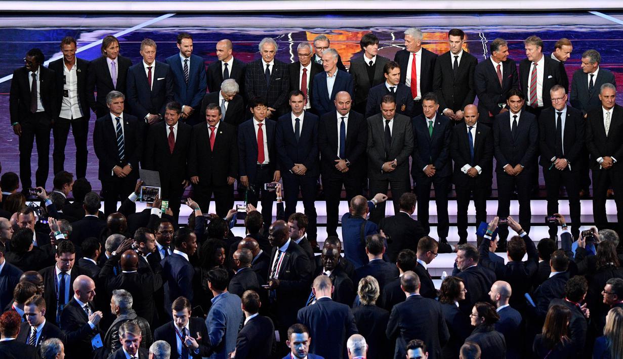 FOTO Inilah Suasana Hangat Undian Piala Dunia 2018 Pesta