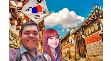 5 Foto Editan Lisa Blackpink Traveling Bareng Fans, Bikin Tepuk Jidat