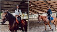 Anya Geraldine punya hobi baru yakni berkuda. (Sumber: Instagram/@anyageraldine)