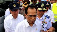 Menhub Budi Karya Sumadi. (Liputan6.com/Fajar Eko Nugroho)
