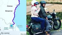 Ridwan Kamil dan Atalia Praratia di kawasan Geopark Ciletuh Pelabuhanratu (dok. Instagram @ridwankamil/https://www.instagram.com/p/Bw52GjOgqWH/Fairuz Fildzah)