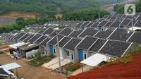 Suasana Perumahan Griya Samaji, Cieseng, Bogor, Rabu (19/2/2020). Bank Tabungan Negara (BTN) pada 2019 telah merealisasikan 735.000 rumah dalam Program pemerintah satu juta rumah dengan kredit kepemilikan rumah bersubsidi sekitar Rp 111 trilyun. (merdeka.com/Arie Basuki)