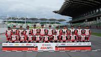 Peserta Asia Talent Cup 2020 saat berpose bersama. (Asia Talent Cup)