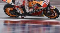 Marquez menjadi pebalap tercepat saat latihan kedua di GP Austin.