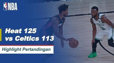 Berita video highlights gim 6 final wilayah timur NBA 2019/2020 antara Miami Heat melawan Boston Celtics yang berakhir dengan 125-113, Selasa (28/9/2020) pagi hari WIB.